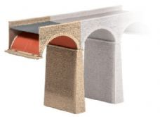 PECO Extra arch and Pier - N Gauge